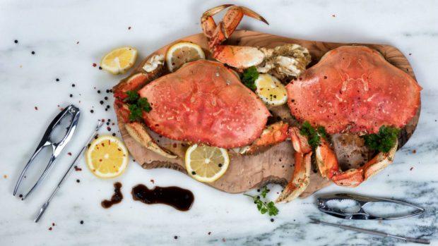 Receta de Guisantes con cangrejo