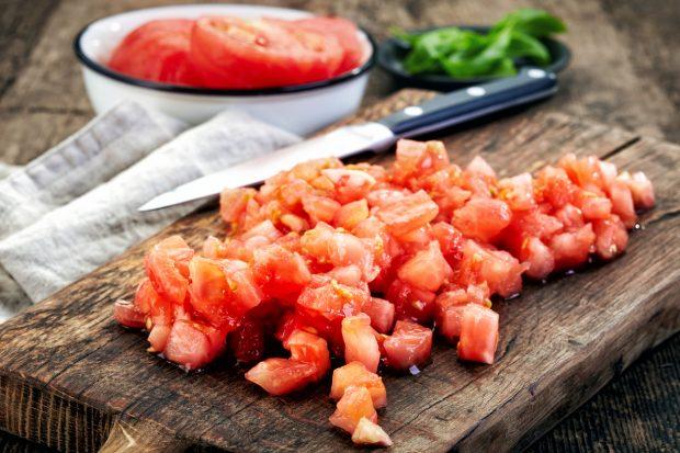 Receta de Salsa de tomate en el microondas 3