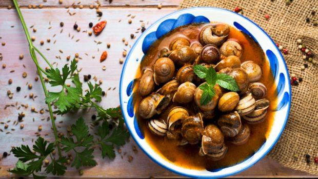 paella de caracol