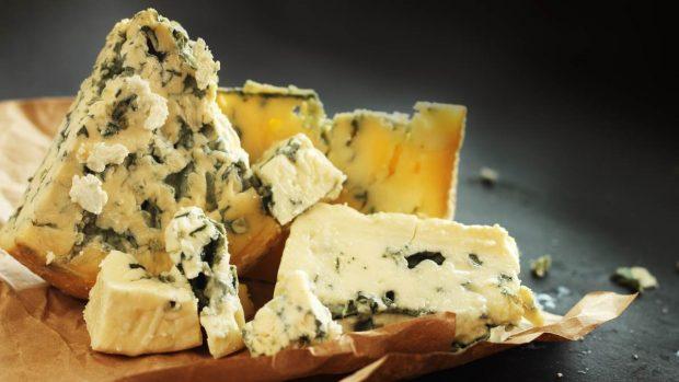 Receta de paté para nueces y queso azul