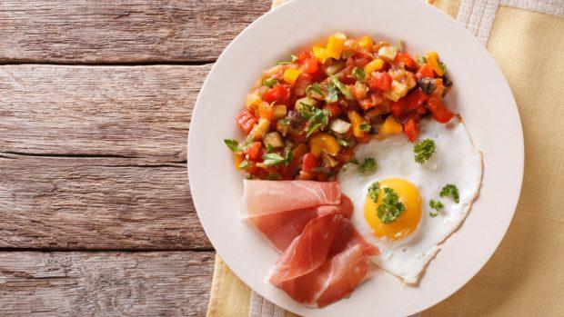 Ratatouille Con Huevos