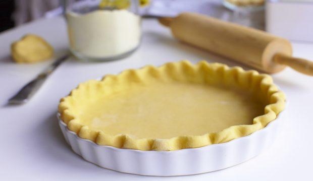 Receta para pastel de nuez y roquefort.