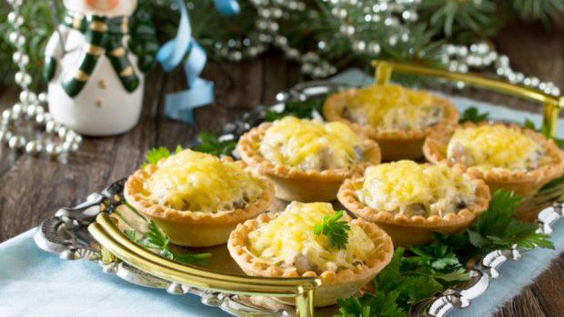 Recetas de canapés para la cena de Nochevieja de Año Nuevo 2018