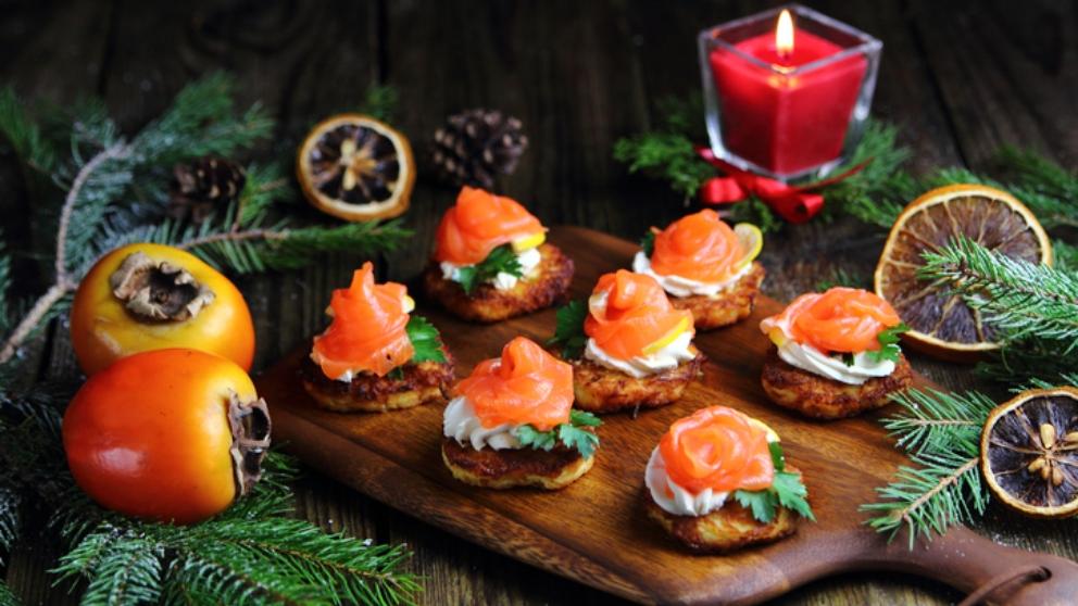 Entrantes y aperitivos fáciles y originales para la cena de fin de año 1