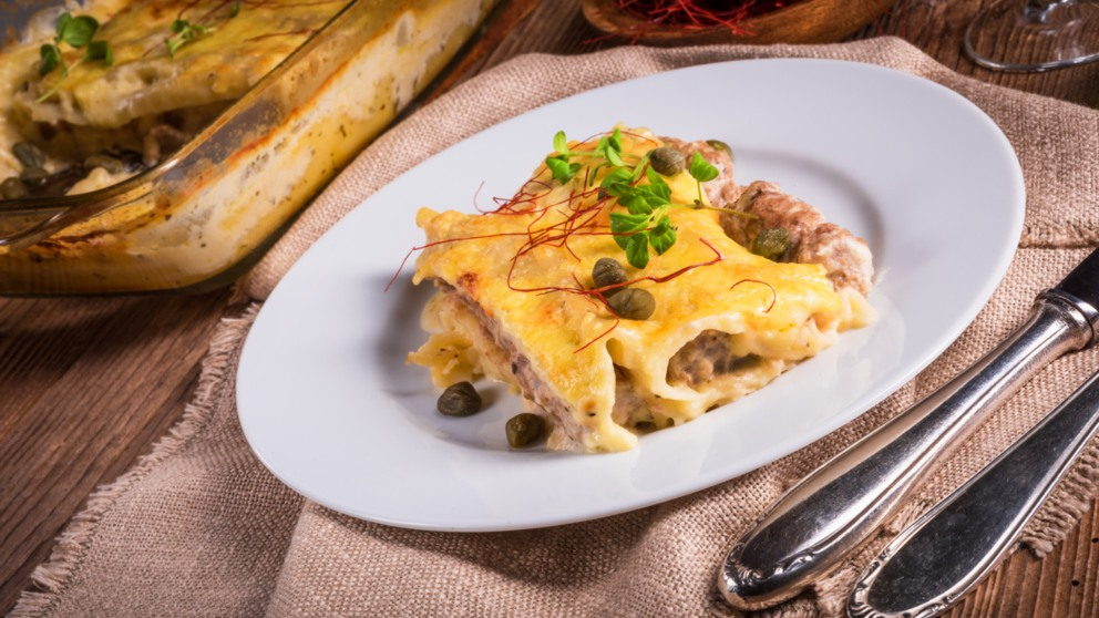 Photo of Receta de Canelones de bacalao