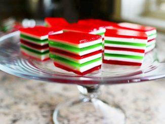 Gelatinas navideñas, ¡de colores! 3