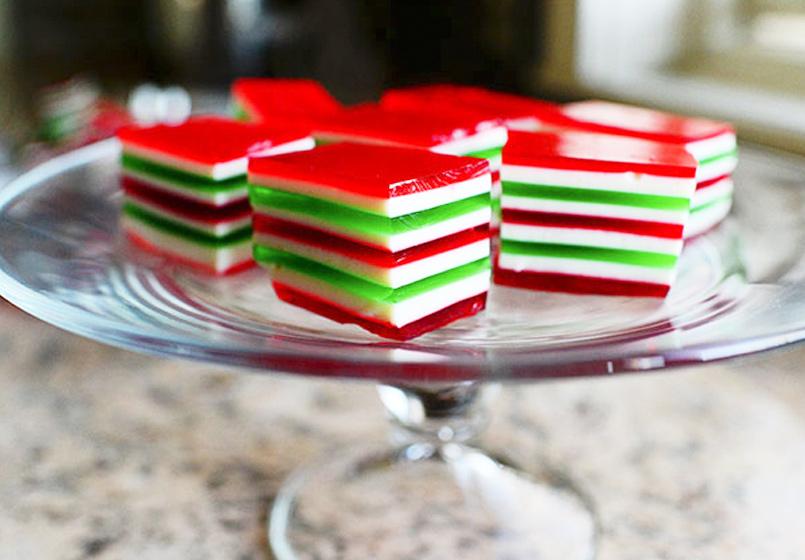 Photo of Gelatinas navideñas, ¡de colores!