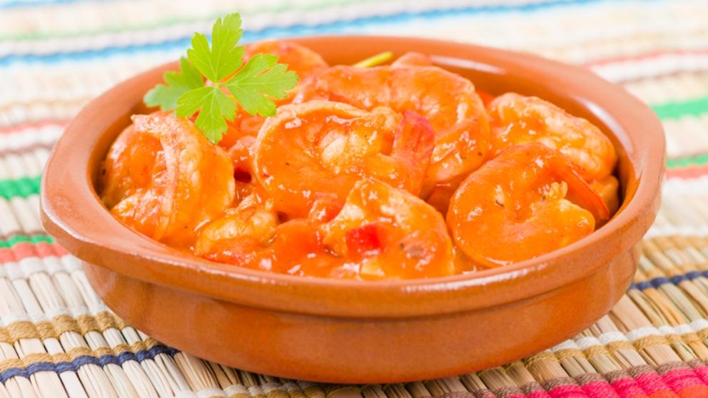 Photo of Receta de Langostinos en salsa de whisky