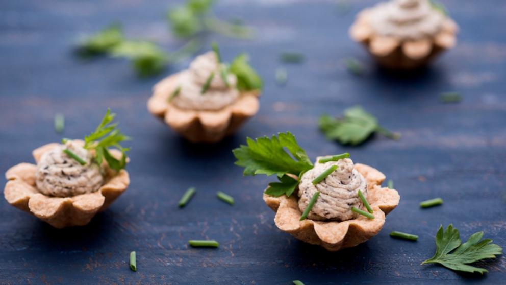 Photo of Receta de Paté de nueces y queso azul