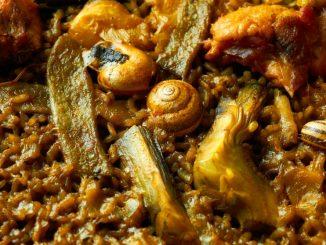 Receta de Paella de caracoles 11