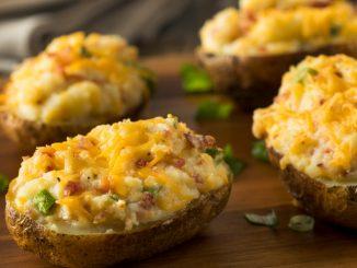 Recetas de Patatas rellenas de pollo 4