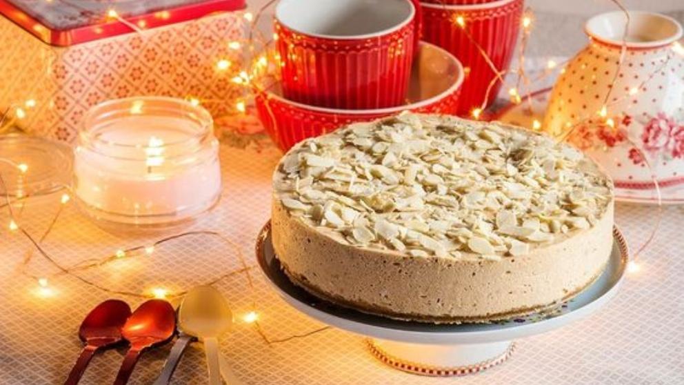 Photo of Receta de Tarta mousse de turrón Jijona para Navidad