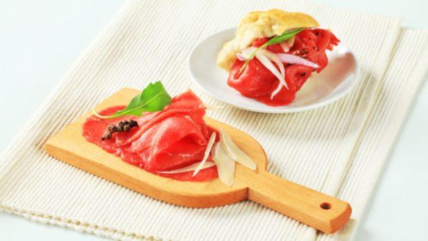 Receta de carpaccio de ternera con salsa
