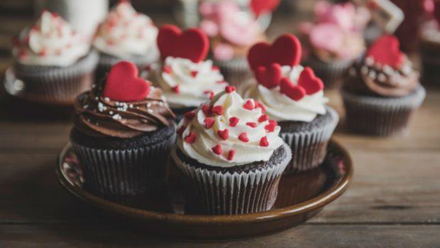 3 recetas de cupcakes para preparar en San Valentín 2