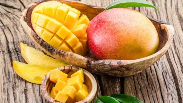 mango para la Receta de Crema catalana de mango
