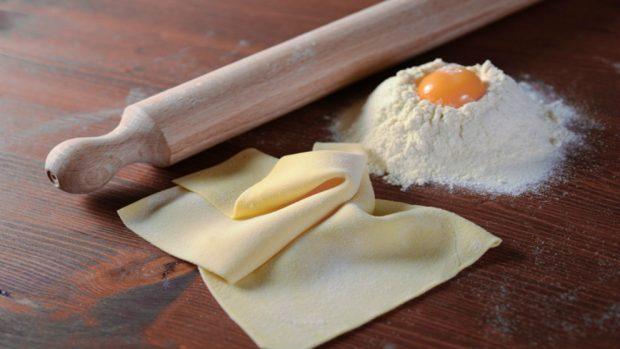 Receta de Pasta filo con crema pastelera 2
