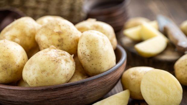 Receta de patatas rellenas con verduras 3