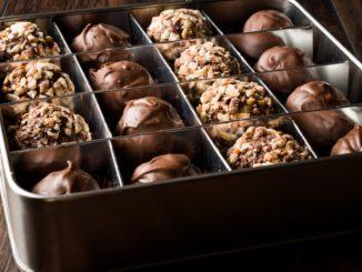 Receta de Castañas bañadas con chocolate