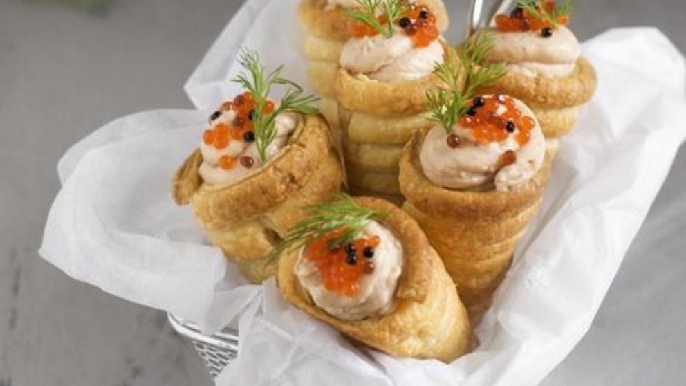 Photo of Receta de Conos de salmón