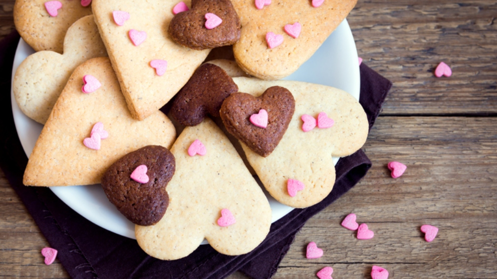 Photo of Receta de galletas para san valentín 2019