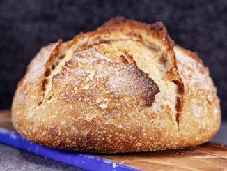 Receta de Pan con masa madre sin levadura 8