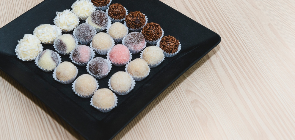 Photo of Receta de Brigadeiros de chocolate y coco