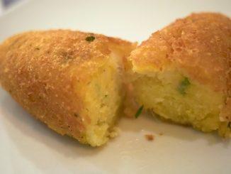 Receta de Croquetas de patata al horno 13