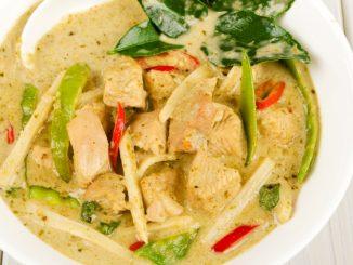 Receta de Curry verde de pollo 1