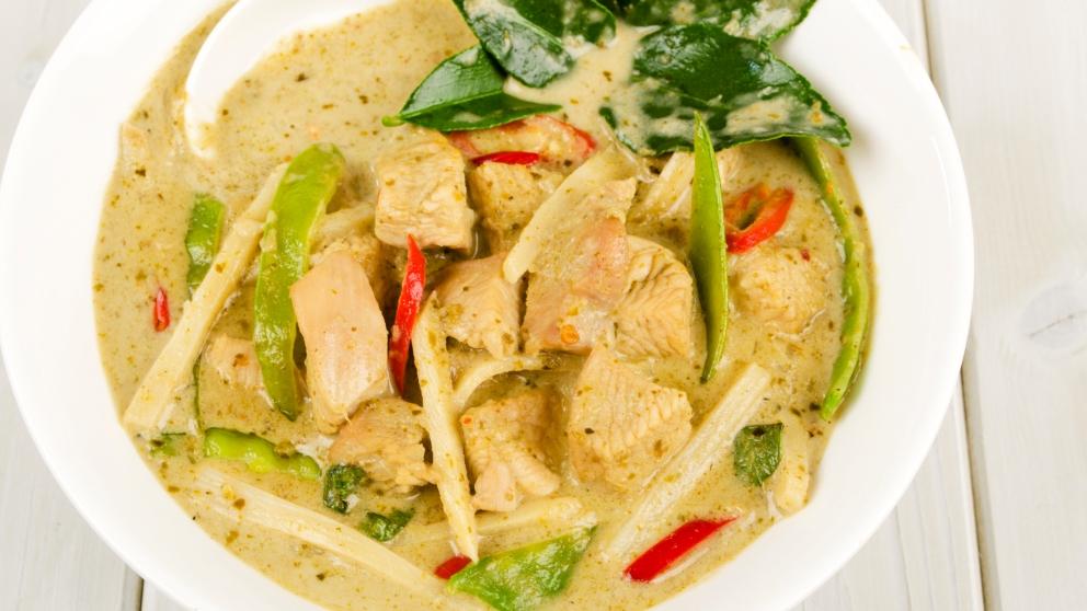 Photo of Receta de Curry verde de pollo
