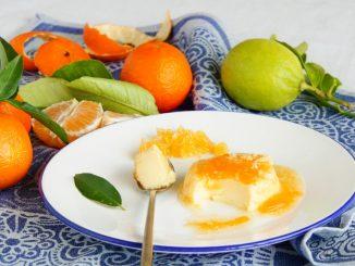 Receta de Flan de zumo de naranja 11