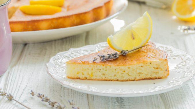 Receta de Pastel de vainilla y limón