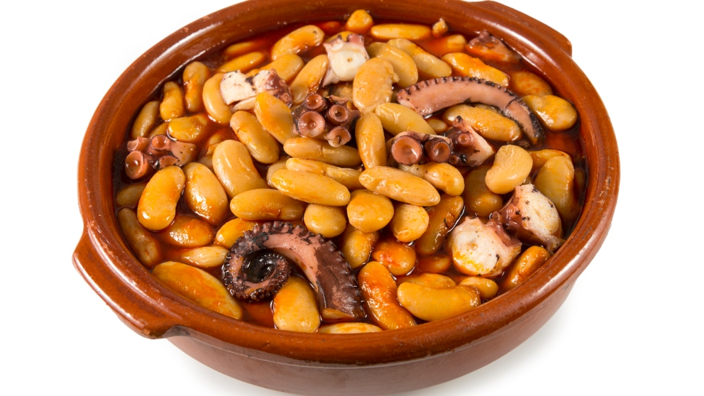 Photo of Receta de Pochas con pulpo