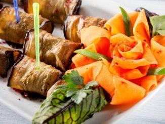 Receta de Rosas de zanahoria y parmesano 12