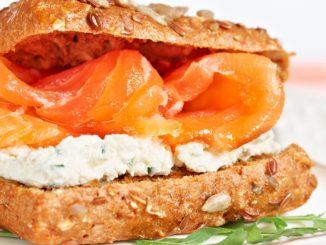 Receta de Sándwich de salmón y mozzarella 18