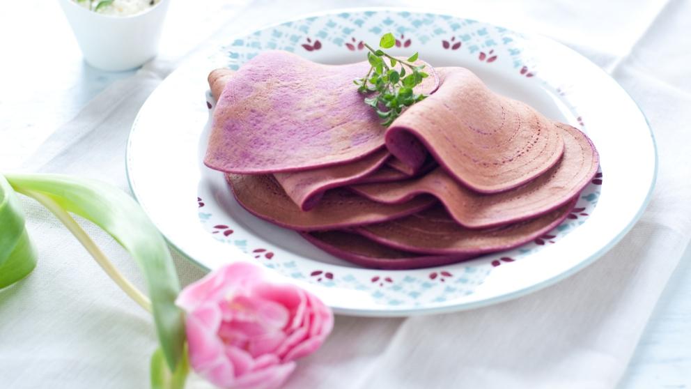Photo of Receta de Tortitas de remolacha