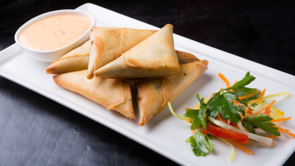 Photo of Receta de Samosas de queso de cabra y miel