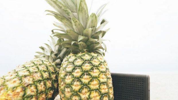 Receta de Ensalada diurética tropical de pepino, apio y piña 3