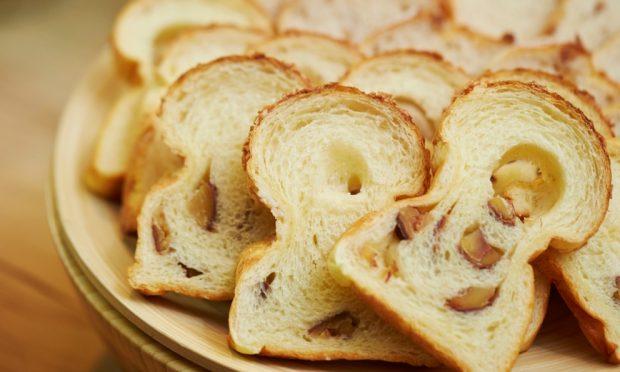 pan de harina de castaña