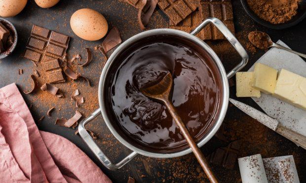 Pudin de chocolate exprés