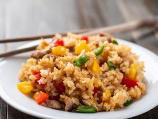 Receta de arroz crujiente con verduras 7