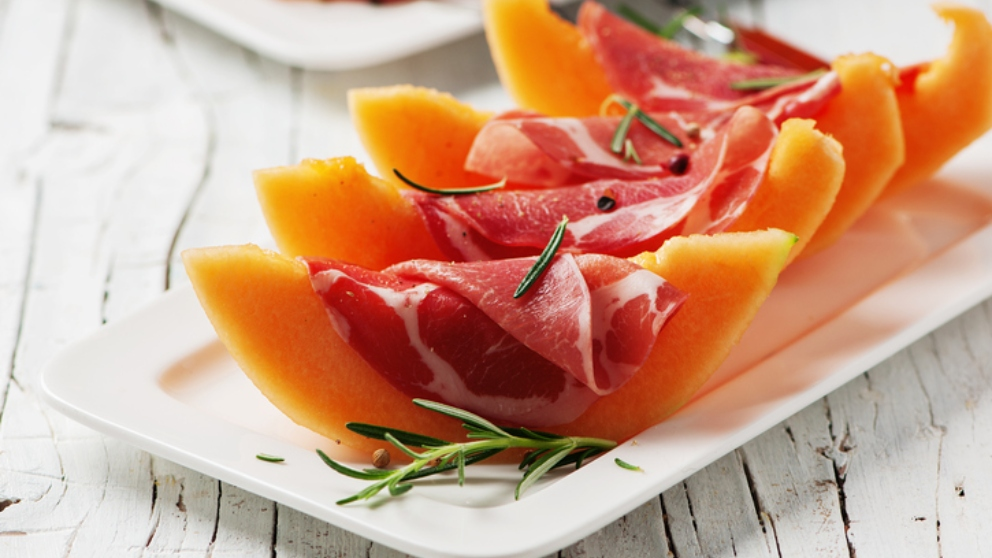 Photo of Receta de Carpaccio de melón con jamón