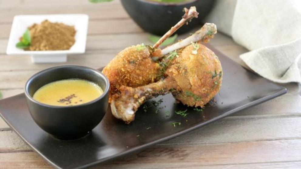 Photo of Receta de chupa chups con nuggets de pollo caseros