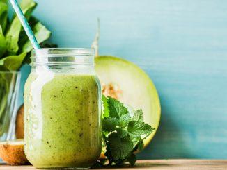Receta de Receta de Batido cremoso o smoothie de melón 3