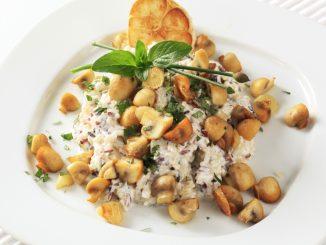 Receta de Ensalada de arroz salvaje con setas 13