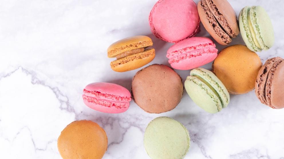 Photo of Receta de Macarons cítricos, fácil de preparar