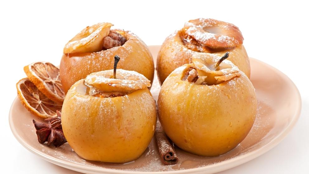Photo of Receta de Manzanas asadas al microondas