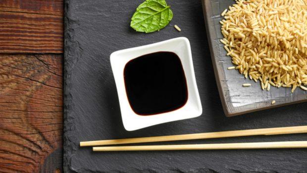 Receta de Rollitos de cerdo con verduras y setas shiitake con salsa dulce de soja y miel 3