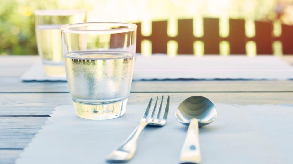 Photo of Cuando el agua se sirve en plato