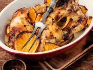 Receta de pavo asado con salsa de pomelo y miel 7