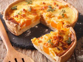 Receta de Quiche de bacon, cebolla caramelizada y queso 11